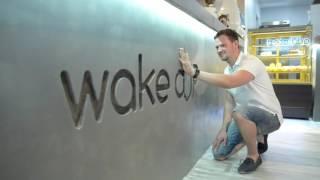 Барная стойка из бетона MONE studio в Wake CUP Bar(Приготовьте Ваши глаза, чтобы всё увидеть, приготовьте ваши уши, чтобы всё услышать, приготовьте ваши ладон..., 2016-07-05T11:40:17.000Z)