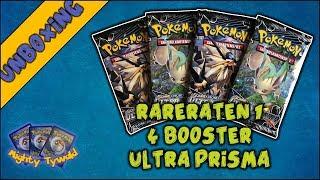 RareRaten #01 - 4 Booster Ultra Prisma / Ultra Prism (PokemonTCG Opening)