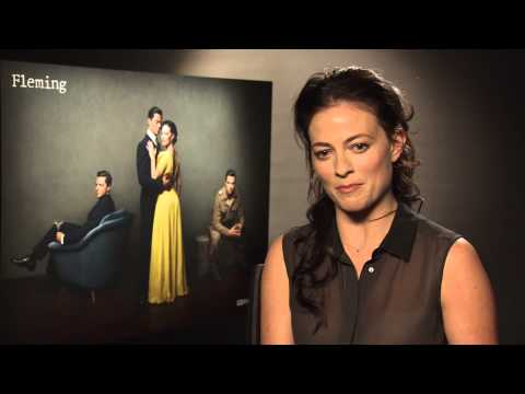 Lara Pulver: Working with Benedict Cumberbatch and Martin Freeman was