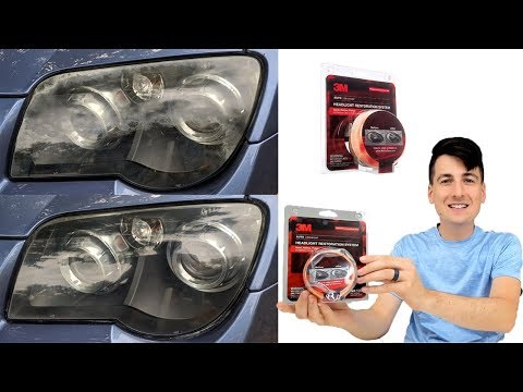 HOW TO RESTORE HEADLIGHTS PERMANENTLY | 3M Headlight Lens Restoration System Review