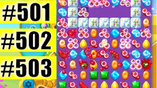 Candy Crush Soda Saga Level 501-502-503 NEW | Complete!