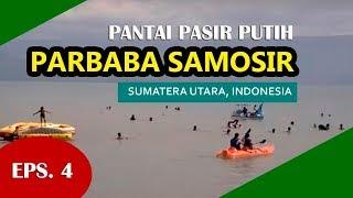 NET10 Pantai Pasir Putih Parbaba Samosir #Timbul Simanjuntak dan #Arnie Simanjuntak