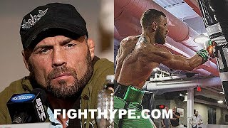 RANDY COUTURE BREAKS DOWN MAYWEATHER VS. MCGREGOR; EXPLAINS CONOR HAS 1 IN 10 SHOT LIKE JAMES TONEY
