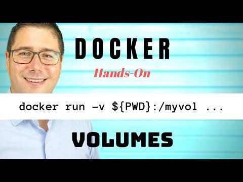 Docker Tutorial: Volume Mounting explained (hands-on)