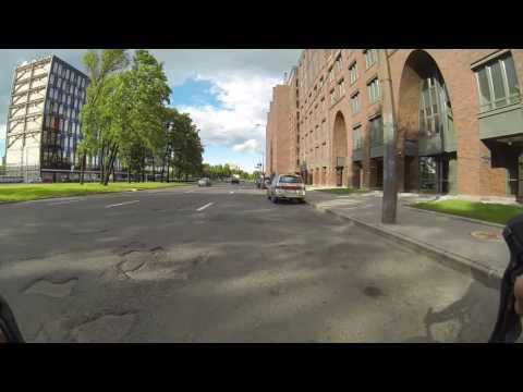 СПБ на велосипеде. Петроградка-Всеволожск-Романовка - Slow TV