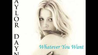 Watch Taylor Dayne Whatever You Want video