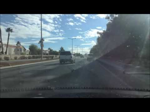 Drive from Rainbow to Summerlin; Las Vegas, Nevada