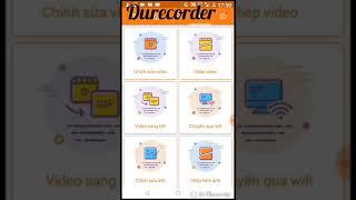 Giới thiệu app Durecorder