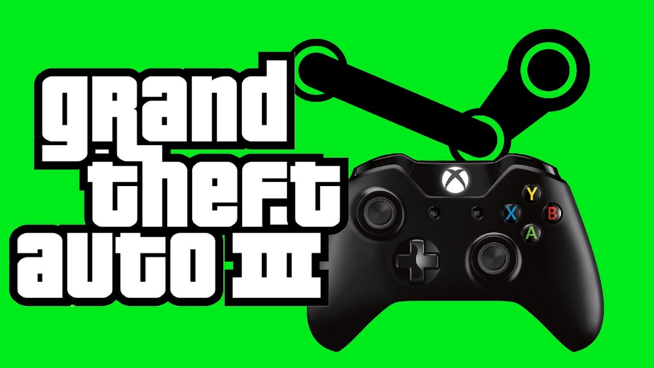 How to Play GTA III on Steam with an Xbox One or Xbox360 Controller (XInput  Device)