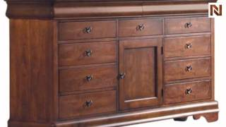 Kincaid 53-162 Chateau Royale Triple Dresser