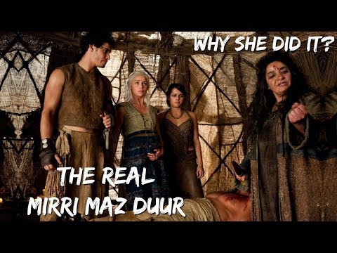 The Witch Mirri Vs Daenerys   Is Mirri Maz Duur Misunderstood   Game Of Thrones   ASOIAF