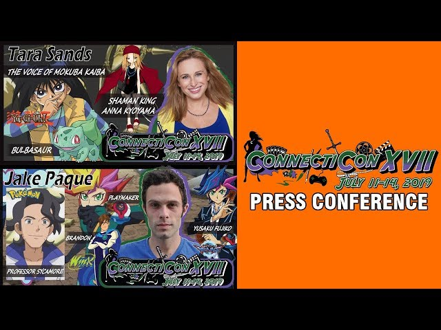 Jake Paque and Tara Sands | ConnectiCon 2019