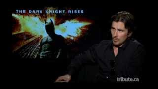 Christian Bale - The Dark Knight Rises Interview with Tribute