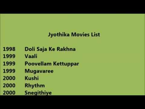 Jyothika Movies List