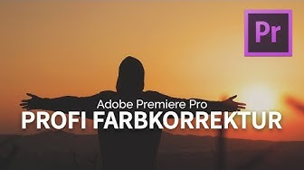 PROFESSIONELLE Farbkorrektur für HAMMER Videos! Film Look - Adobe Premiere Pro | Tutorial [FULL HD]
