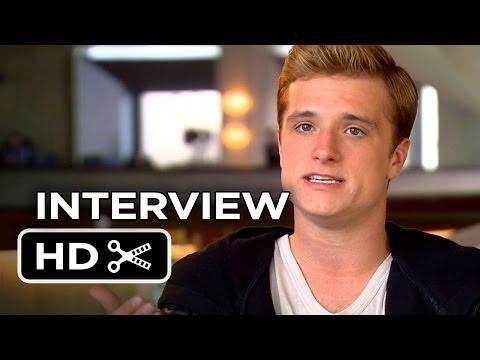 The Hunger Games: Catching Fire - Josh Hutcherson Interview (2013) HD