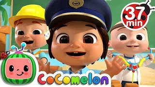 Jobs And Career Song +more Nursery Rhymes & Kids Songs - Cocomelon
