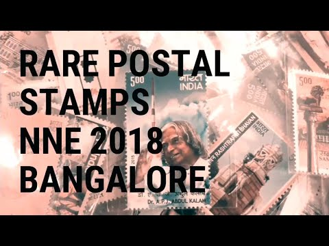 Rare Indian Postal Stamps At NNE 2018