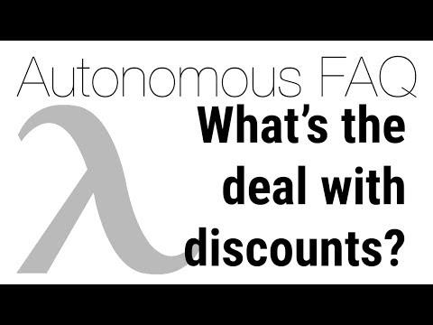 Bulk orders and discounts with Autonomous   Autonomous FAQ