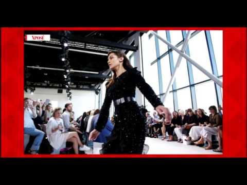 Bella Hadid Falls On Hard Concrete At NYFW - Celebrity Fail