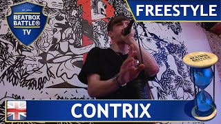 Contrix from England - Freestyle - Beatbox Battle TV