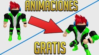 HOW TO HAVE ANIMATIONS FREE IN ROBLOX
