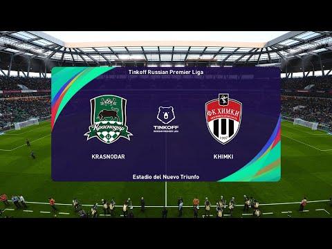 Pes 2021 Krasnodar Vs Khimki Russia Premier League 18 09 2020 1080p 60fps Youtube