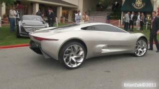 Jaguar C-X75 2011 Videos