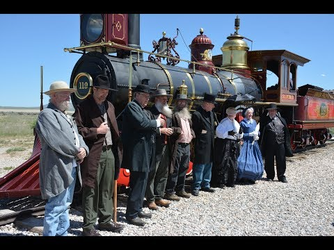 Golden Spike Monument Promontory, Utah May, 2018