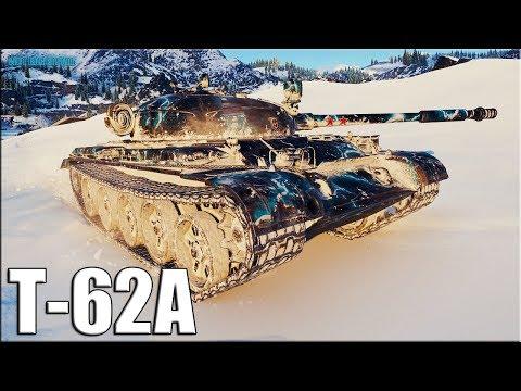 Режим ИМБА на Т-62А World of Tanks