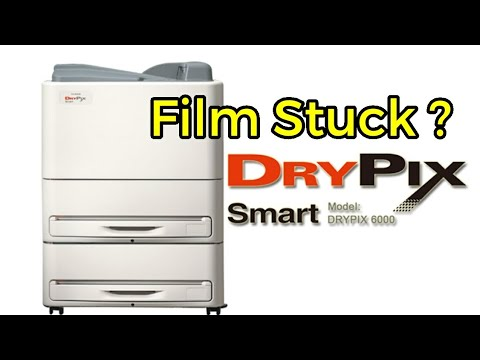 Fujifilm Film stucking problem in the dry pix smart printer explanation [English Subtitles]