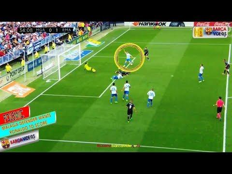 Malaga defender wants Ronaldo to score (May 17)