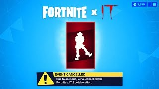 FREE PENNYWISE EMOTE *FOUND* IN FORTNITE! (Fortnite IT 2 Items)