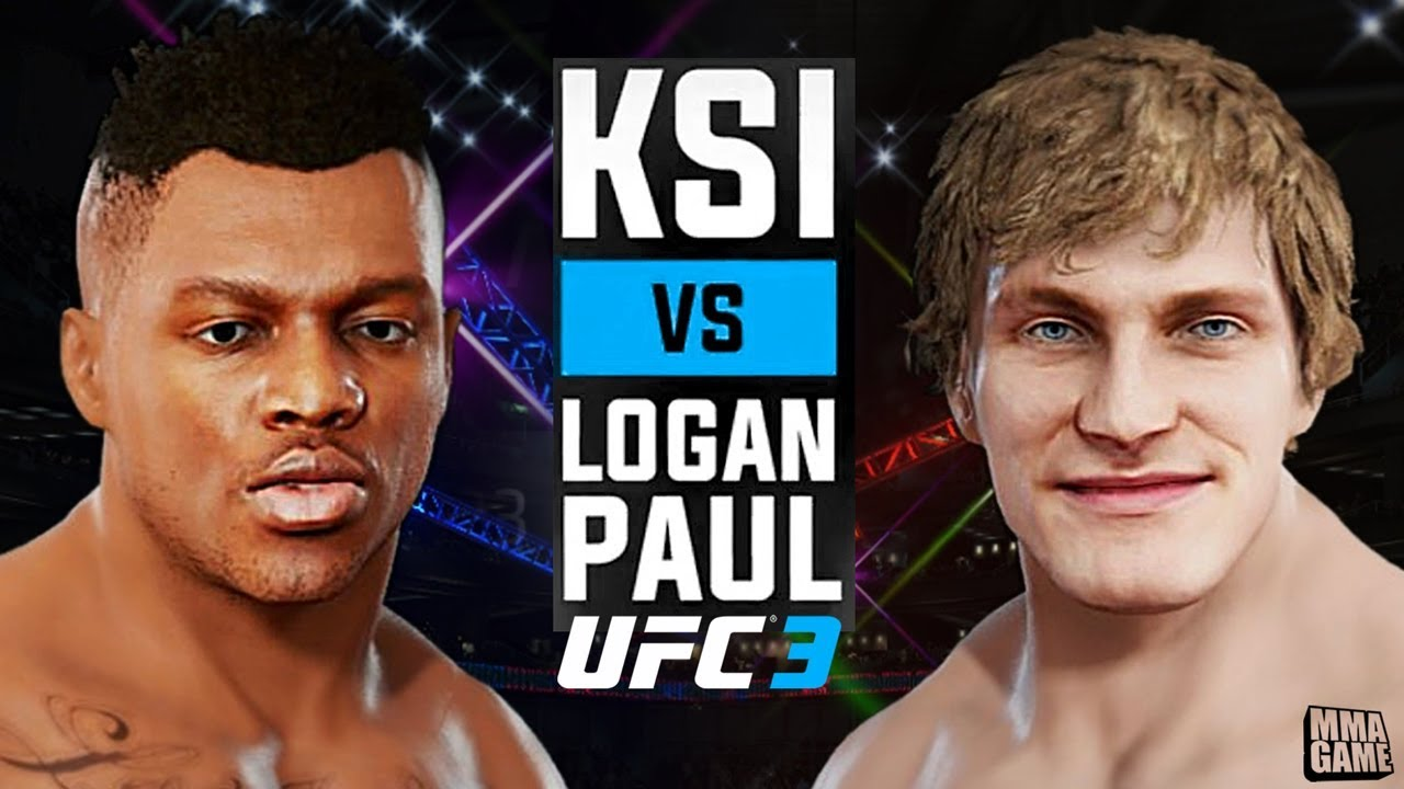fd5d562faee461 KSI vs Logan Paul in EA Sports UFC 3 ( Stand up Rules Only ) - YouTube