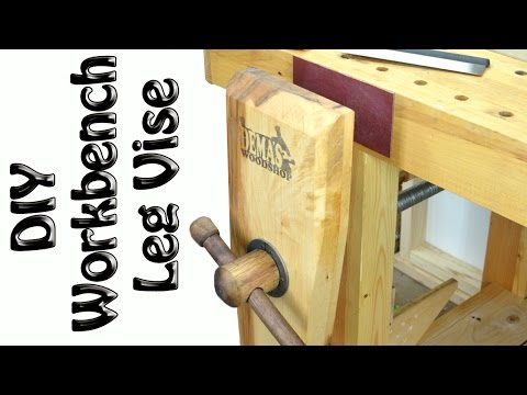 Easy DIY Roubo Leg Vise build