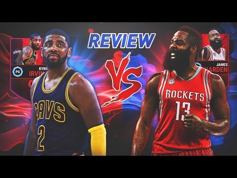IRVING VS HARDEN PLAYOFF REVIEW 94-OVR | NBA LIVE MOBILE