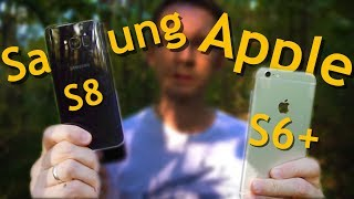 SAMSUNG или APPLE??? Galaxy S8 vs Iphone 6S plus для фотографа