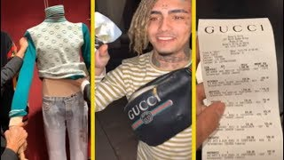 Lil Pump Says He's The Rapper Who Spends The Most On Gucci!