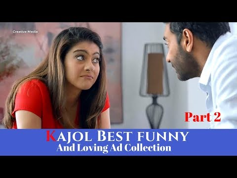 Best Funny And Beautiful Kajol Tv Ads Collection Part 2