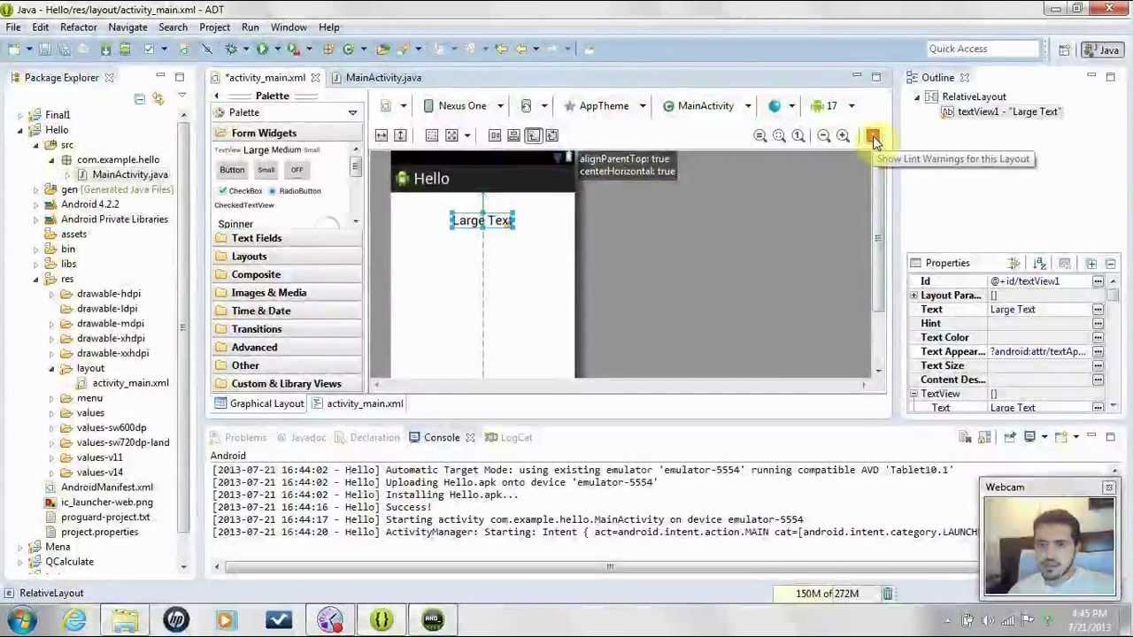 Create An Android App Using Eclipse In 20 Minutes  Master Android In 20  Minutes  Tutorial