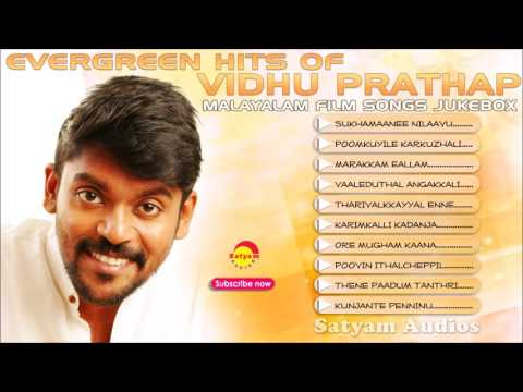 Evergreen Hits of Vidhu Prathap | Audio Jukebox | Malayalam Film Songs