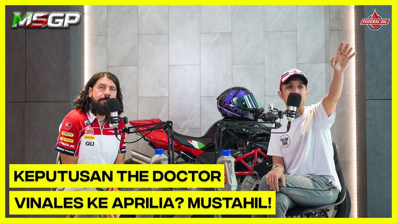 """MSGP - """"Keputusan Rossi, Vinales ke Aprilia? Mustahil!"""""""