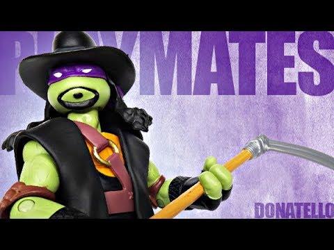 Playmates - Teenage Mutant Ninja Turtles WWE Superstar Series - Donatello Review