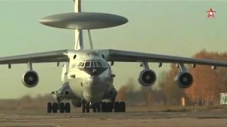 «Всевидящее око» в деле: кадры учений самолетов ДРЛО А-50