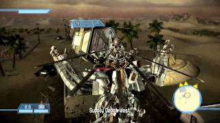 Transformers: The Game Walkthrough: Decepticons - SOCCENT Military Base - Seek and Destroy