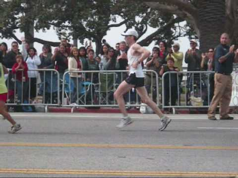 Los Angeles Marathon 2010 - Finish line in Santa Monica