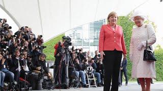 Queen Elizabeth in Berlin: Kanzleramt & TU Berlin