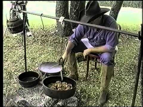 Cooking With Cast Iron Out Back Ole West Texas With Jerry