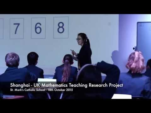 Shanghai - UK Mathematics Teaching Research Project Lesson Observation
