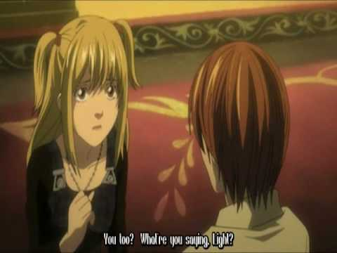 Death Note - Misa and Light's Love * HIGH QUALITY*
